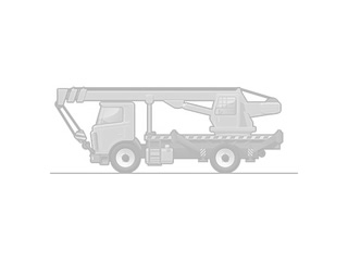 Крюковый погрузчик КАМАЗ 6520-3072-53 с КМУ Hiab Multilift Optima 20S.59